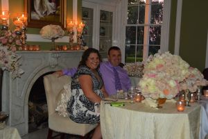 Celebrating their 10th Anniversary at Historic Kent Manor Inn