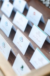 individual style escort cards